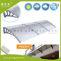 YP100120 100x120cm 100x240cm 100x360cm Window Awning Modern Polycarbonate Cover Front Door Outdoor Patio Canopy