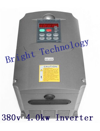 380v AC 4kw 5HP VFD Variable Frequency Drive VFD Inverter 3 Phase Input 3 Phase Output Frequency inverter spindle motor стоимость