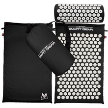 Lotus acupuncture mat massage mats for yoga fitness massage and a set of pillows