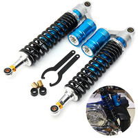 1 Set Front Motorcycle Air Shocks Absorbers For Yamaha Banshee Raptor Rhino 660 700 YFZ450 Aluminum
