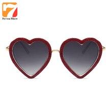2017 Steampunk Corazón gafas de Sol de Las Mujeres de Moda Diseñador de la Marca Gafas de Sol Para Laides Mujer Shades UV400 Lunette de Soleil Gafas