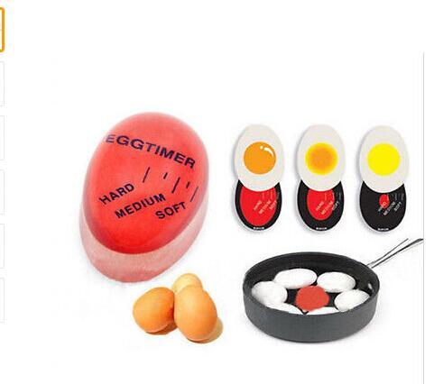 1pc Egg Timer Control Soft Hard Boiled Eggs Cooking Kitchen Resin Egg Timer