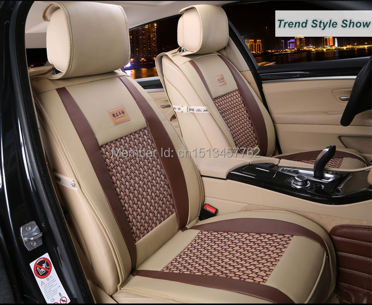 2015 New Design Leather Car Seat Cover In Automobiles Seat Covers