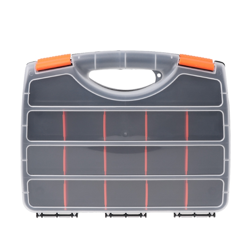 Plastic Hand Tool Storage Case Spanner Screwdriver Parts Hardware Organizer Box #Aug.26