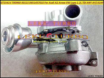 GT1541V 700960, 700960-0003, 700960-0005 045145701D Turbo turbocompresor para AUDI A2 Seat Arosa 2000-VW Lupo 1999-Cualquier AYZ 1.2L TDI