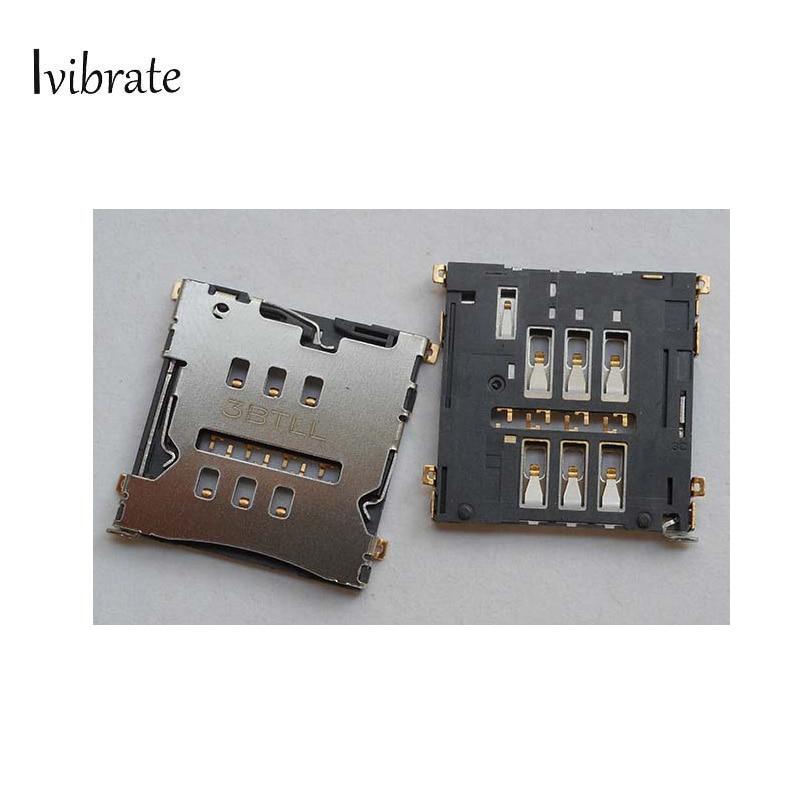 5pcs New Original For ZTE S2002 G718 Sim Card Reader Slot holder socket Tray For ZTE S 2002 G 718
