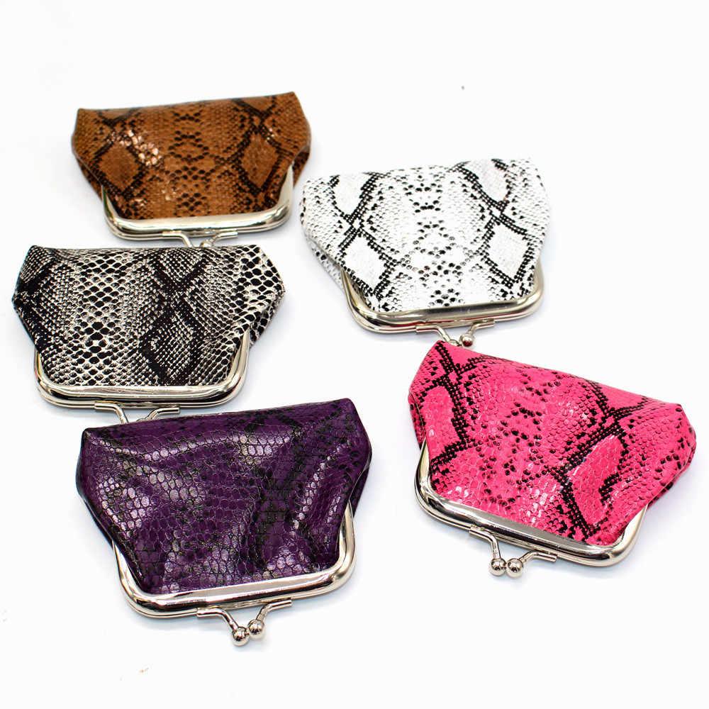 Novas Mulheres Moda Retro Impressão Lanches Bolsa Titular do Cartão de Crédito Titulares de Cartão Bolsa Da Moeda Saco Batom Presente Da Menina