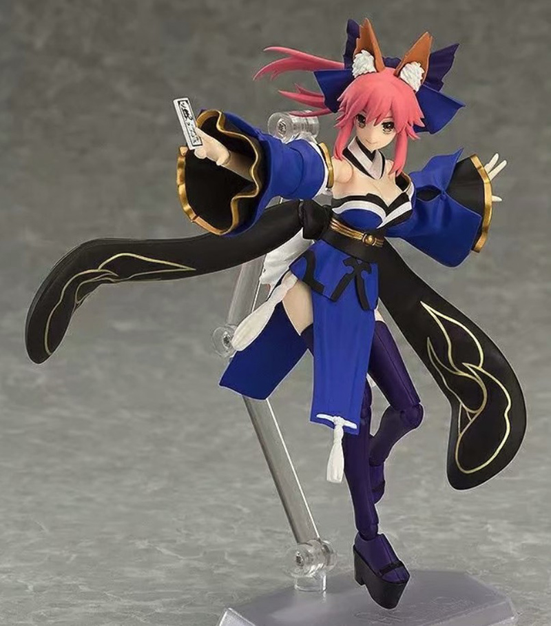 304 Fate EXTRA Caster Tamamo no Mae Fox Girl BJD Figma Action Figure Toys