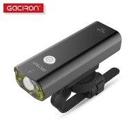 GACIRON Usb Rechargeable Bike Light Handlebar Cycling Led Light 18650 Battery Flashlight Torch Headlight Bicycle Accessories