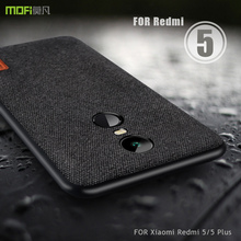 Xiaomi Redmi 5 artı kılıf Xiaomi Redmi 5 artı MOFi redmi not 5 Case arka kapak kumaş koruyucu redmi 5 artı buzlu kılıfları