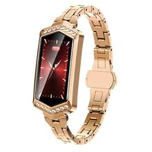 Womens fashion B78 color screen smart watch blood pressure heart rate monitoring IP67 physiological period GPS track bracelet