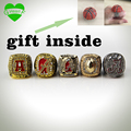 Drop Shipping 5 years 1992 2009 2011 2012 2015 Alabama Crimson Tide Championship Ring Replica Drop shipping for  Box Gift