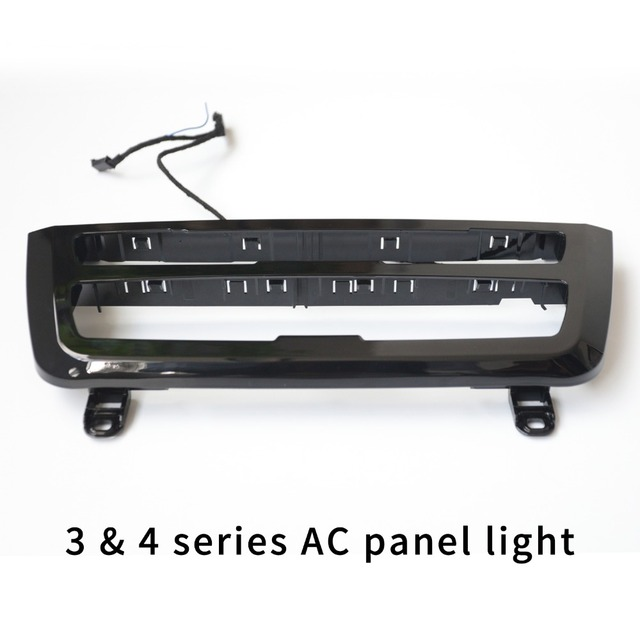 For Bmw 3 4 Series F30 Lci Radio Trim Led Dashboard Center Console