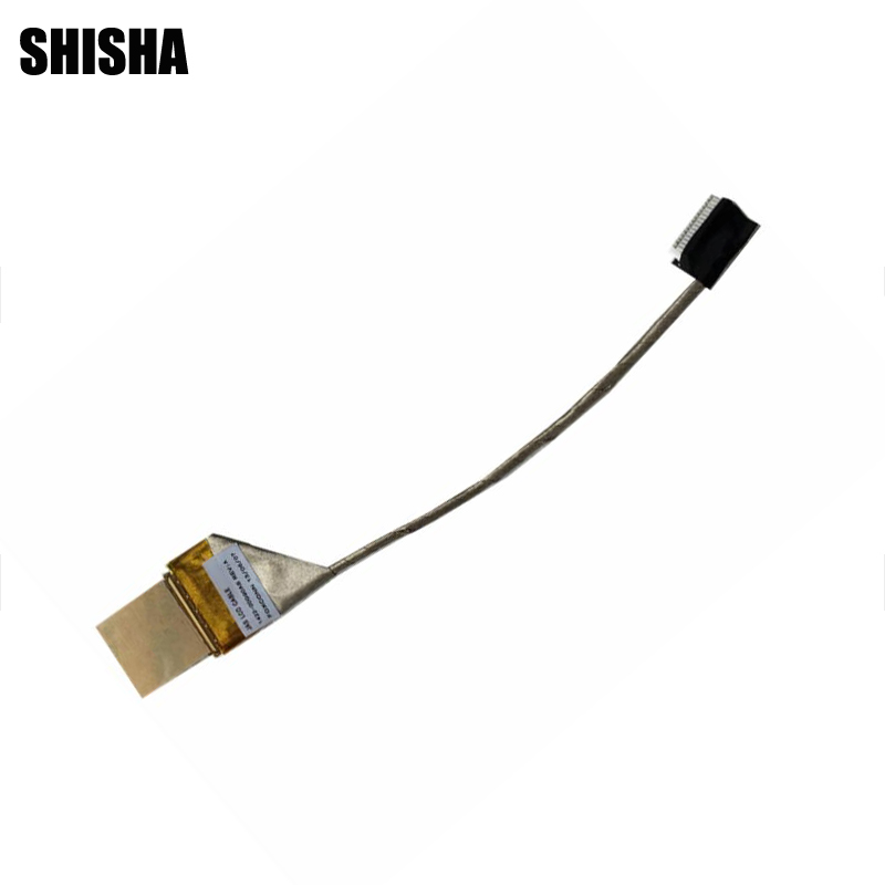 Shisha New LVDS LED LCD Video Flex Cable For ASUS K40 K40IN K50I K50i K50ij 1422-00G90AS Screen Display Cable weeten genuine lcd panel flex cable for asus transformer pad tf701t k00c lcd display flex cable