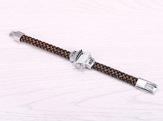 Attack On Titan Wings Of Liberty Bracelet