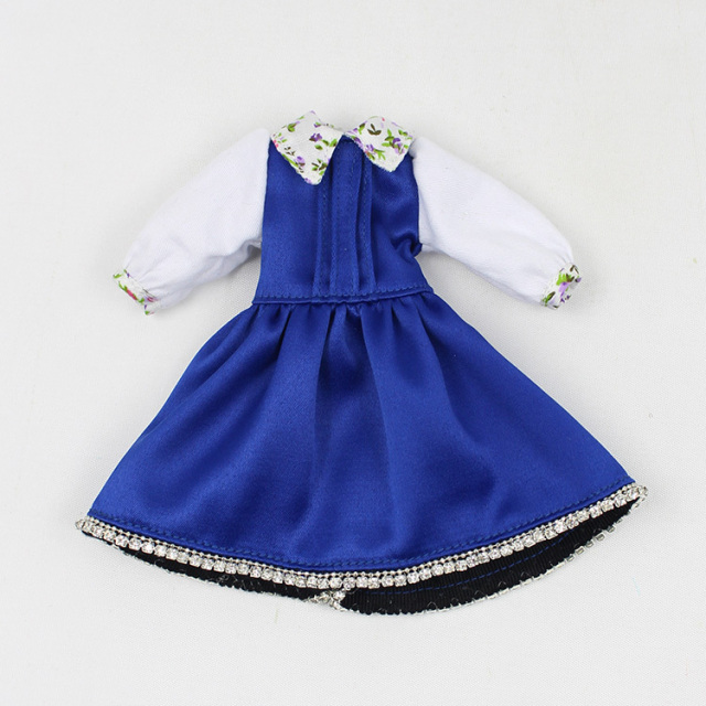 Neo Blyth Doll Blue Dress
