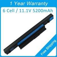 Nouveau 6 cellules batterie d'ordinateur portable pour acer Aspire 5745 AS3820T AS4820T AS5820T AS7745G AS10B5E BT.00605.061 BT.00907.013 BT.00907.015