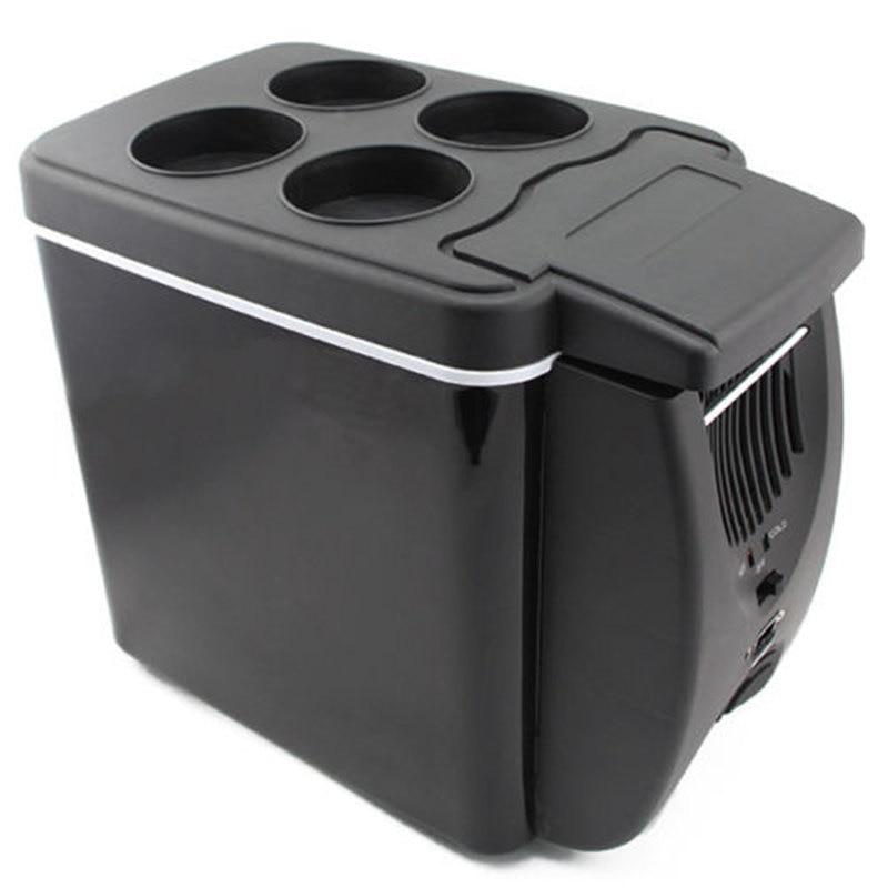 Portable Mini Freezer 6l Car Fridge Travel Camping 12v Boat Truck Auto Refrigerator Cooler