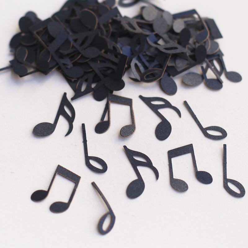 100pcs Music Note Confetti, Die Cut, Rockstar Baby Shower, Music Theme  Party, Rock Star Birthday Party, Music Birthday C20 In Banners, Streamers U0026  Confetti ...