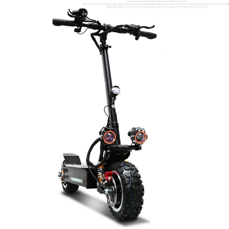 <font><b>3200W</b></font> Dualdrive Electric <font><b>Scooter</b></font> Powerful Adult Hoverboard Off Road Skateboard Professional Electric Longboard 11 inch Tire image
