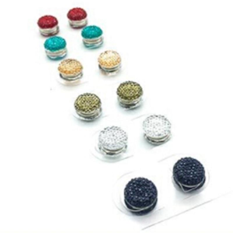 Square Magnetic Hijab Pin Shawl Magnet Scarf Pin Headscarf Abaya Clasp Brooch ME