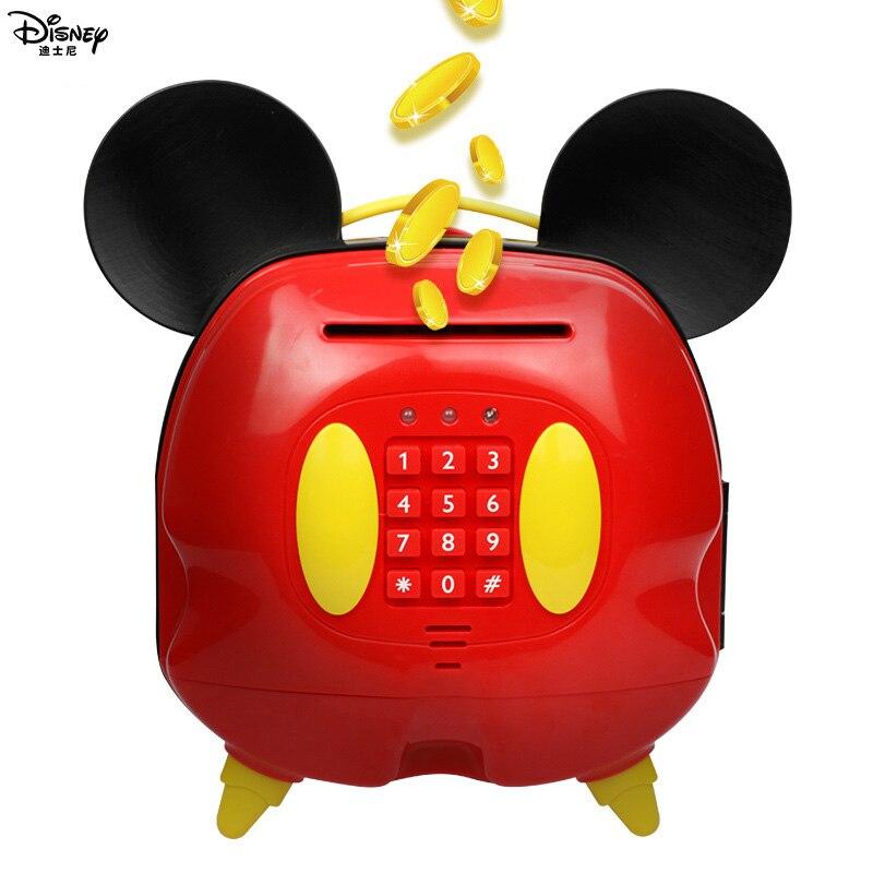 Juguetes Educativos para estudiantes para niñas con bloqueo de contraseña de Mickey alcancía para niños-in Juguetes de dinero y banca from Juguetes y pasatiempos    2