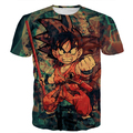 Men Women Harajuku Vintage Prints tshirts Classic Dragon Ball Z Tees Shirts Tie Dye Kid Goku 3D t shirt Male Anime t shirts tee