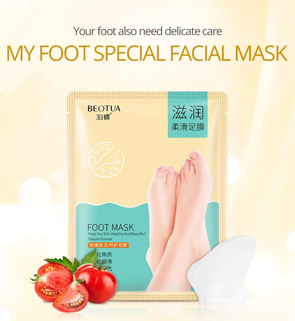 Sonnig 3 Packs = 6 Stücke Baby Fuß Peeling Erneuerung Fuß Maske Für Beine Entfernen Abgestorbene Haut Glatt Peeling Socken Fuß Pflege Socken Für Pediküre Füße Hautpflege
