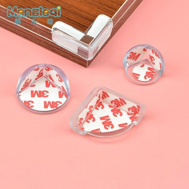 1 piezas bebé de seguridad Protector de silicona esquina de la Tabla de Protección de la cubierta del borde niños anticolisión Edge niño protectores de esquina