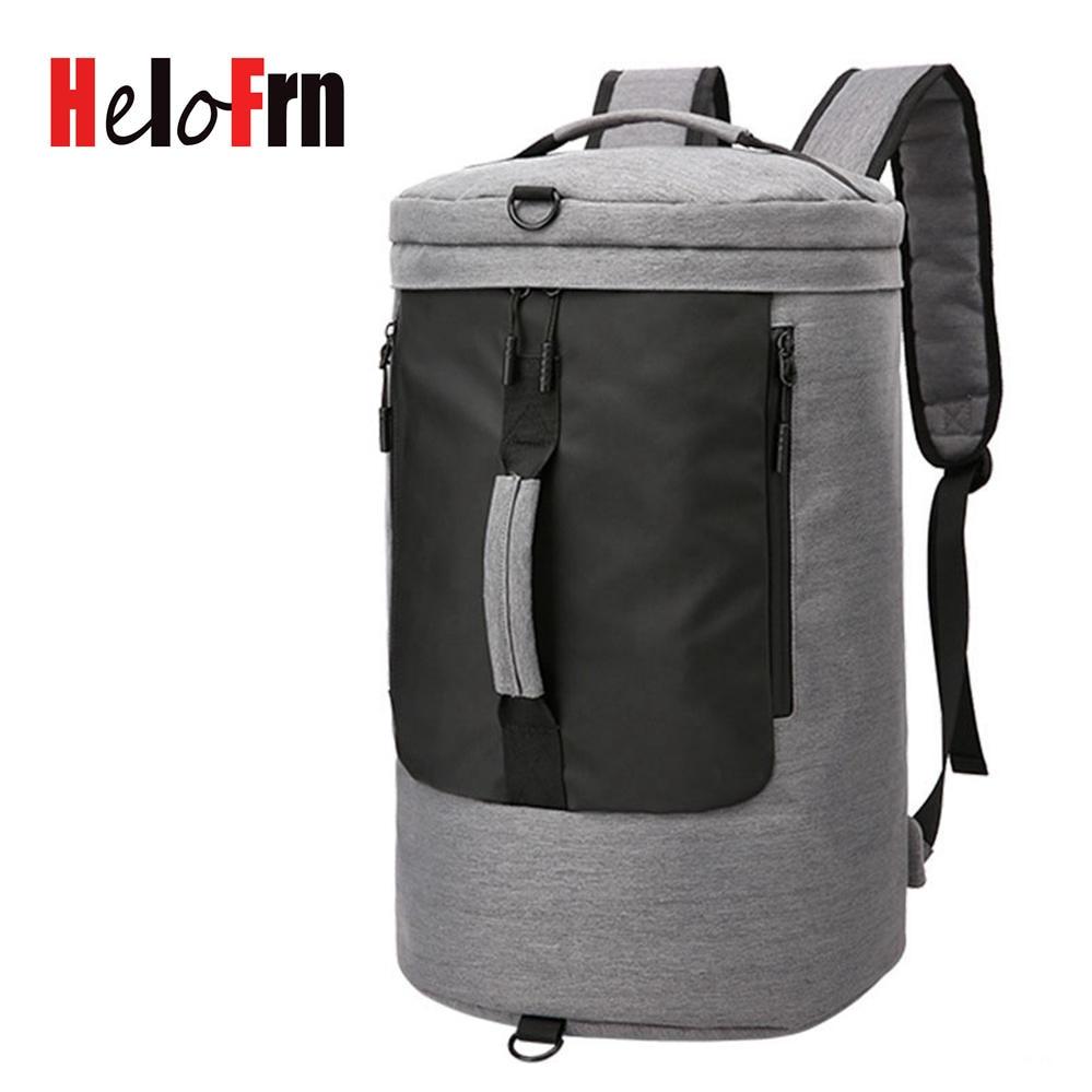 HeloFrn Travel Backpack Men Large Capacity Waterproof Backpack For Teenagers Male Bag Laptop USB Mochila Travel Bagpack BlackHeloFrn Travel Backpack Men Large Capacity Waterproof Backpack For Teenagers Male Bag Laptop USB Mochila Travel Bagpack Black