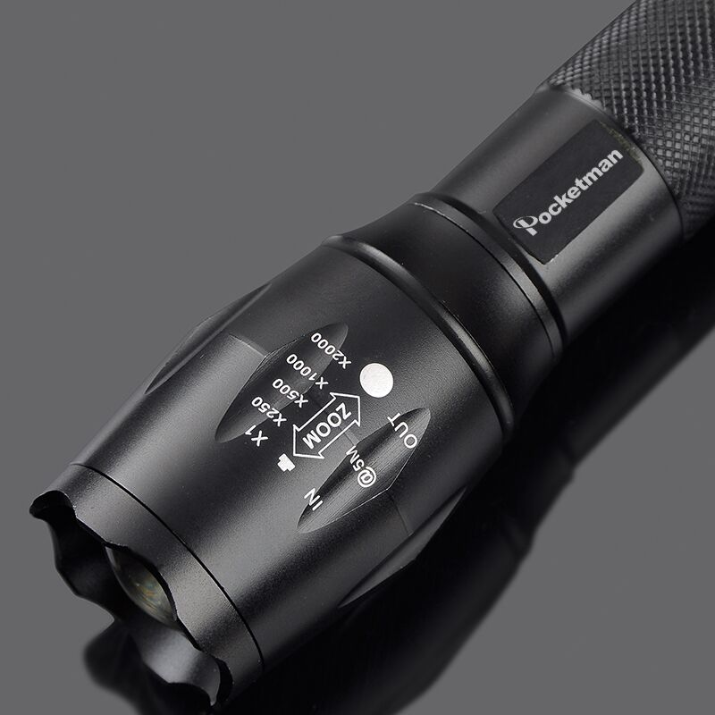 Flashlight E17 CREE XM-L2 8200LM Tactical cree Led Torch Zoom cree LED Flashlight Torch light For 3xAAA or 1x 18650 battery