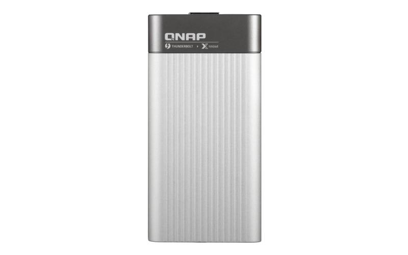 QNAP QNA-T310G1T, Thunderbolt 3, RJ-45, Noir, Argent, 10 Gbit/s, Activité, lien, Puissance, Windows 10 L'éducation x64, Windows 10 Ent