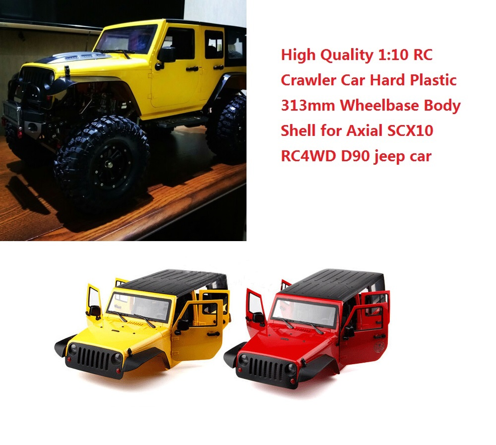 1:10 Hard Plastic 313mm Wheelbase Body Shell for Axial SCX10 RC4WD D90 Crawler