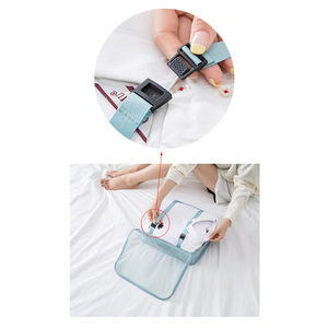 Image 3 - Hohe Qualität 7 Teile/satz Verpackung Cube für Koffer 2020 Reise Veranstalter Tasche Frauen Männer Schuh Kleidung Gepäck Reisetaschen