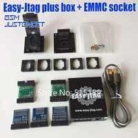 NEW version Full set Easy Jtag plus box Easy-Jtag plus box + EMMC socket For HTC/ Huawei/LG/ Motorola /Samsung /SONY/ZTE