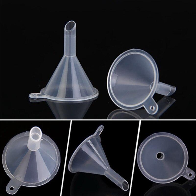 pour huiles essentielles et art du sable PP 12 mini entonnoirs en plastique 27 mm//6,4 mm