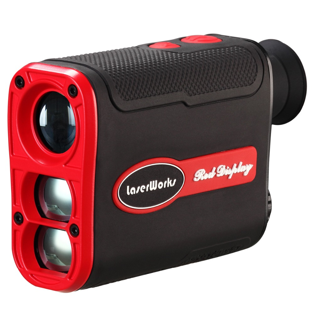 LaserWorks Laser Rangefinder day and night working Hunting LRF 800 meter with LCD Red Display