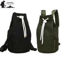 HIGHSEE New large Capacity Sport Gym Bags Women Fitness Bag Canvas Drawstring Gym Backpack Canvas Bucket Bag Backpack Sport