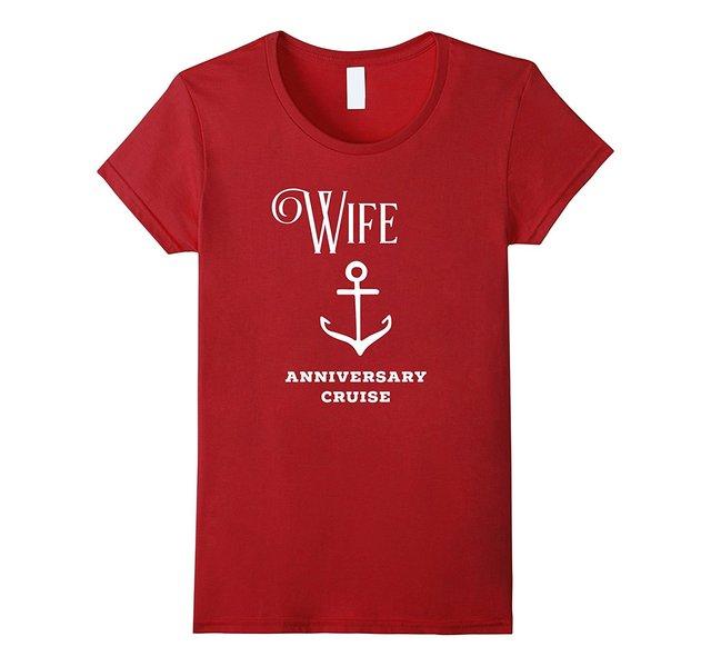 f7de2b29 Cruise Ship Accessory Mr and Mrs. Anniversary Shirt Wife Printed Funny T  Shirt Women Western Style Punk Women T-Shirts 2017