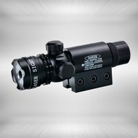 Tactical 532nm Green Laser Dot Scope Sight Ambidextrous Push button Switch and Remote Pressure Switch 2 Mounts For Rifle