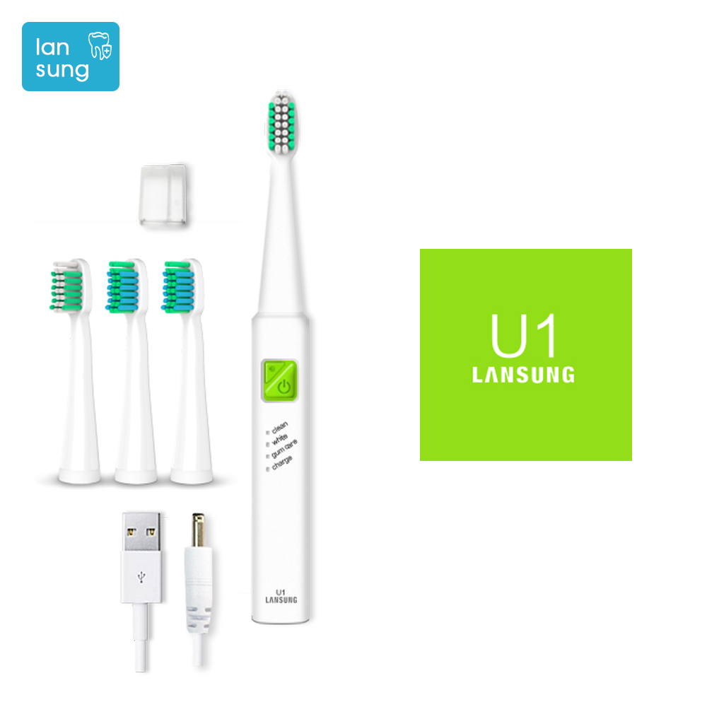 Electronic Toothbrush Lansung U1 Ultrasonic Toothbrush Electric Tooth Brush Electric Toothbrush Cepillo Dental Oral Hygiene 3