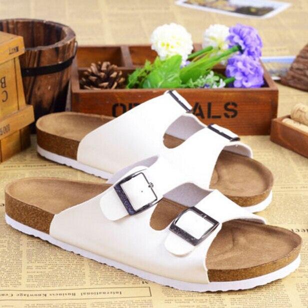 Design casual di marca degli uomini scarpe basse sandali in sughero di  colore solido Anti slip beach sandali infradito da uomo estate scarpe in  sughero ... 9c4193eac4c