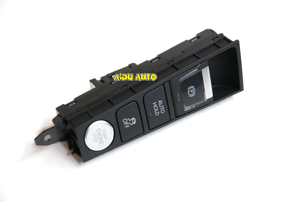 Handbrake Hand brake Button Auto Hold Switch ESP OFF switch For Passat B7 CC 3AD927137 3AD 927 137