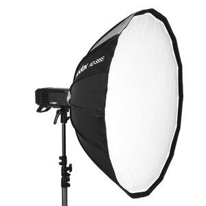 Image 2 - Godox AD S65S AD S65W 65CM AD S85S AD S85W 85cm כסף עמוק Parabolic Softbox + כוורת רשת Godox הר Softbox עבור AD400PRO