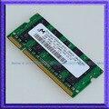 Микрон 2 ГБ PC2-5300 DDR2-667 667 МГц SO-DIMM 200pin DDR2 667 Памяти Ноутбука 2 Г Ноутбуков sodimm ОПЕРАТИВНОЙ ПАМЯТИ Бесплатная Доставка