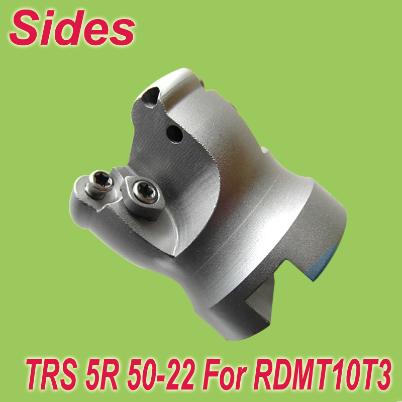 Free Shiping  TRS-5R-50-22-4T Face Milling Cutter Head for RDMT10T3