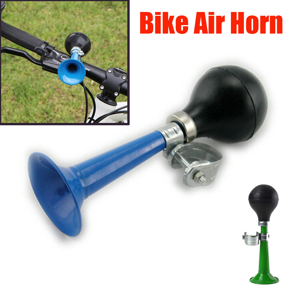 VINTAGE BIKE BICYCLE BUGLE AIR HORN HOOTER BELL LOUD CLEAR TONE REEDS NOS NEW