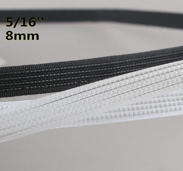 3e54b26d37 Polyester Plastic Boning - Crafts   Corset Plastic Boning 50yard x 8mm  sewing for making wedding dress corselet  bustle