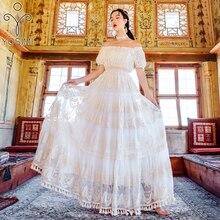 fuera blanco mujer Vestido