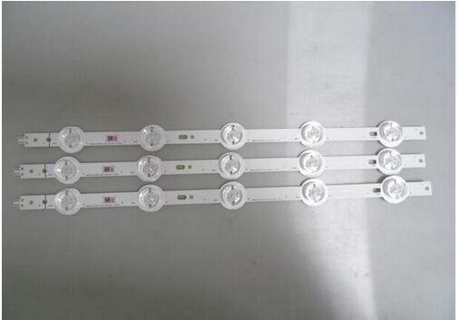 10 pcs x original led tiras 2014ud65-fc0m-5-cem w/fliter lente óptica para samsung tv monitor de painel de lâmpadas de luz de fundo 37 cm 5-leds